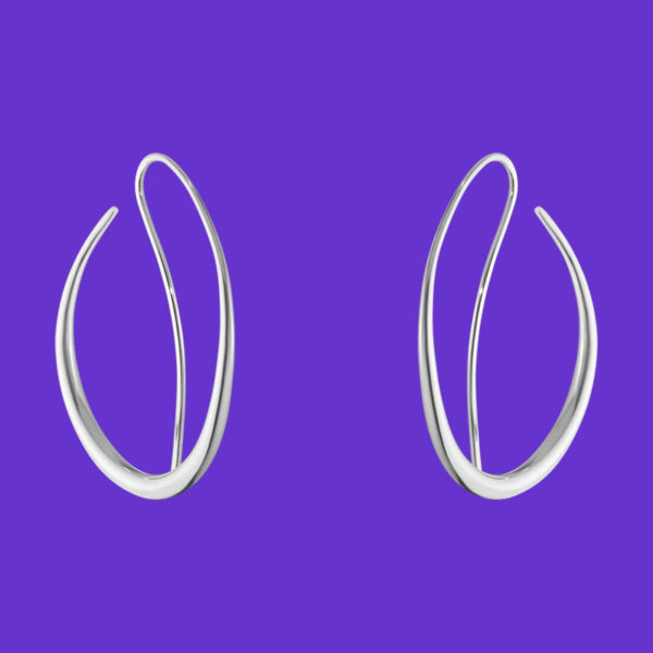Georg Jensen Offspring Earhoops 433B