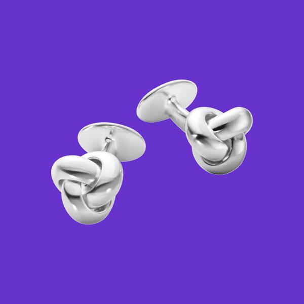 Georg Jensen Classic Knot Cufflinks 636B