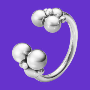 Georg Jensen Moonlight Grapes Ring 551J