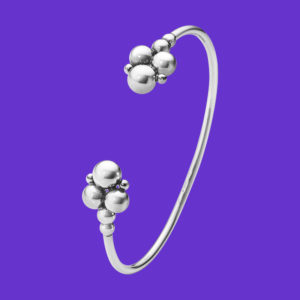Georg Jensen Moonlight Grapes Bangle 551E