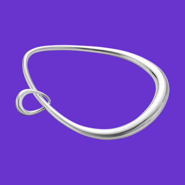Georg Jensen Offspring Bangle with Charm 433A
