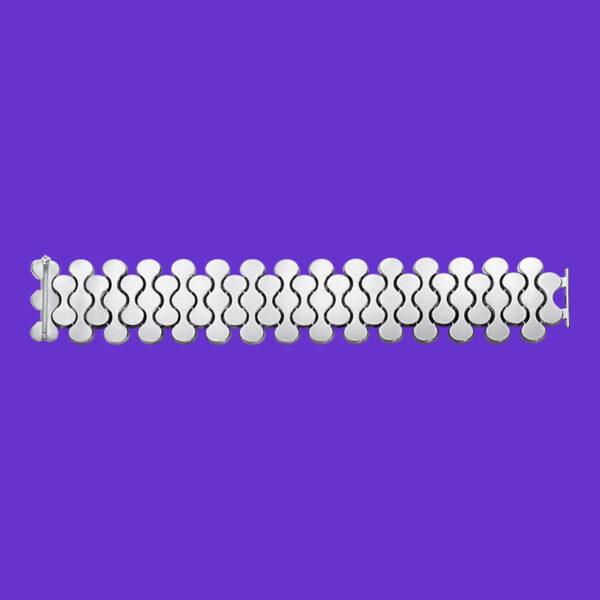 Georg Jensen Silver Bracelet Archive Collection 110D
