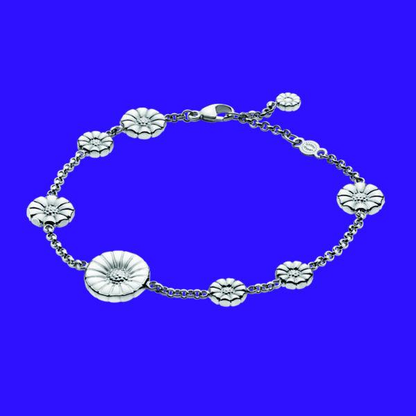 Georg Jensen Daisy Bracelet Silver 550
