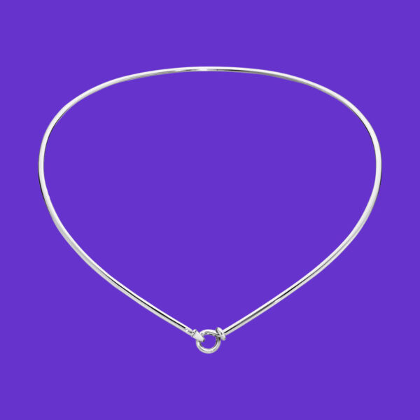 Georg Jensen Dew Drop Neck Ring 174