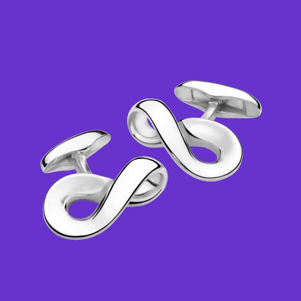 Georg Jensen Infinity Cufflinks 452