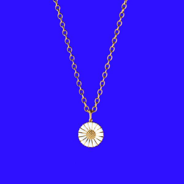 Georg Jensen Daisy Pendant Small Gold