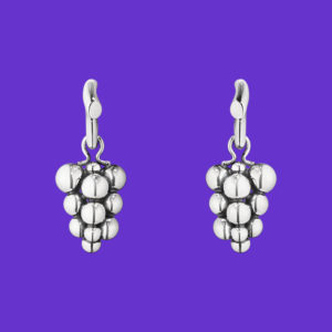 Moonlight Grapes Earrings 551A