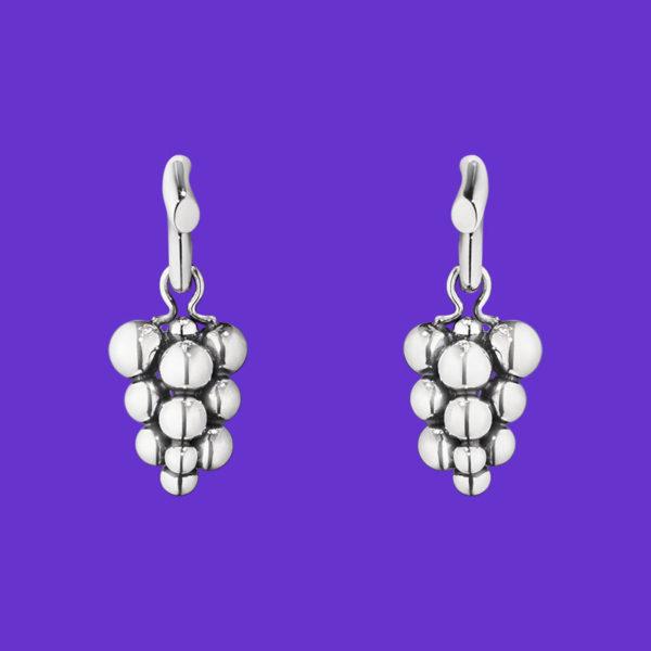 Moonlight Grapes Earrings 551A