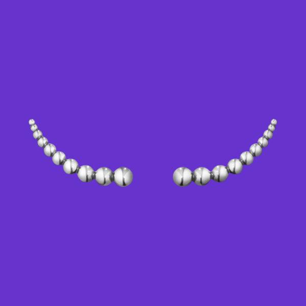 Moonlight Grapes Earrings 551B