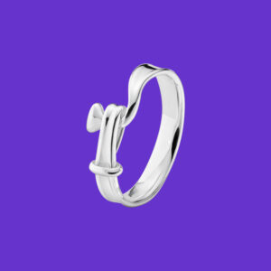 Georg Jensen Torun Ring Sterling Silver 204A