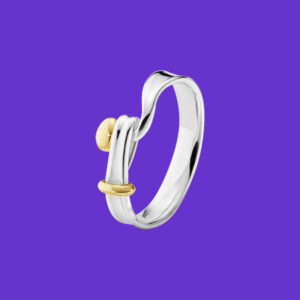 Georg Jensen Torun Ring Yellow Gold 204A