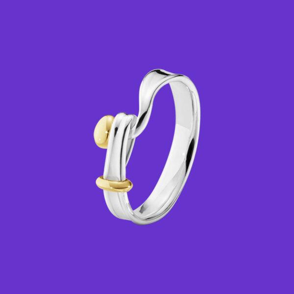 Georg Jensen Torun Ring Yellow Gold 204A