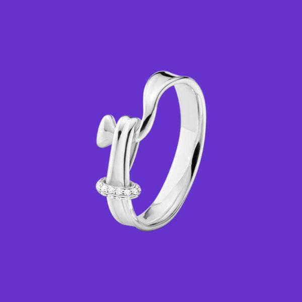 Georg Jensen Torun Ring Diamond 204A