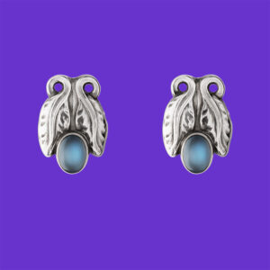 Georg Jensen Moonlight Ear Clips 108