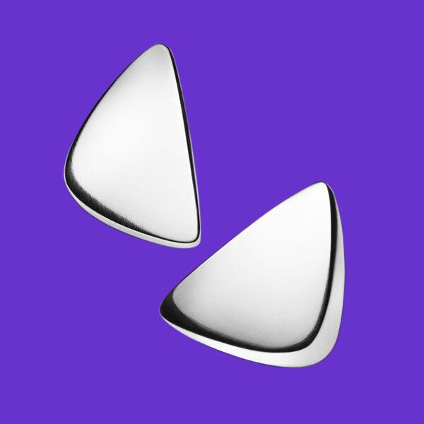 Georg Jensen Peak Earrings 214